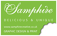 Samphire Creative - graphic designers Nottingham